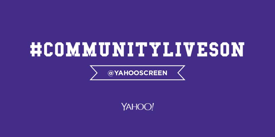 Community - Yahoo Screen, c'est terminé