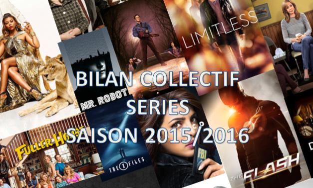 Bilan collectif de la saison séries 2015/2016