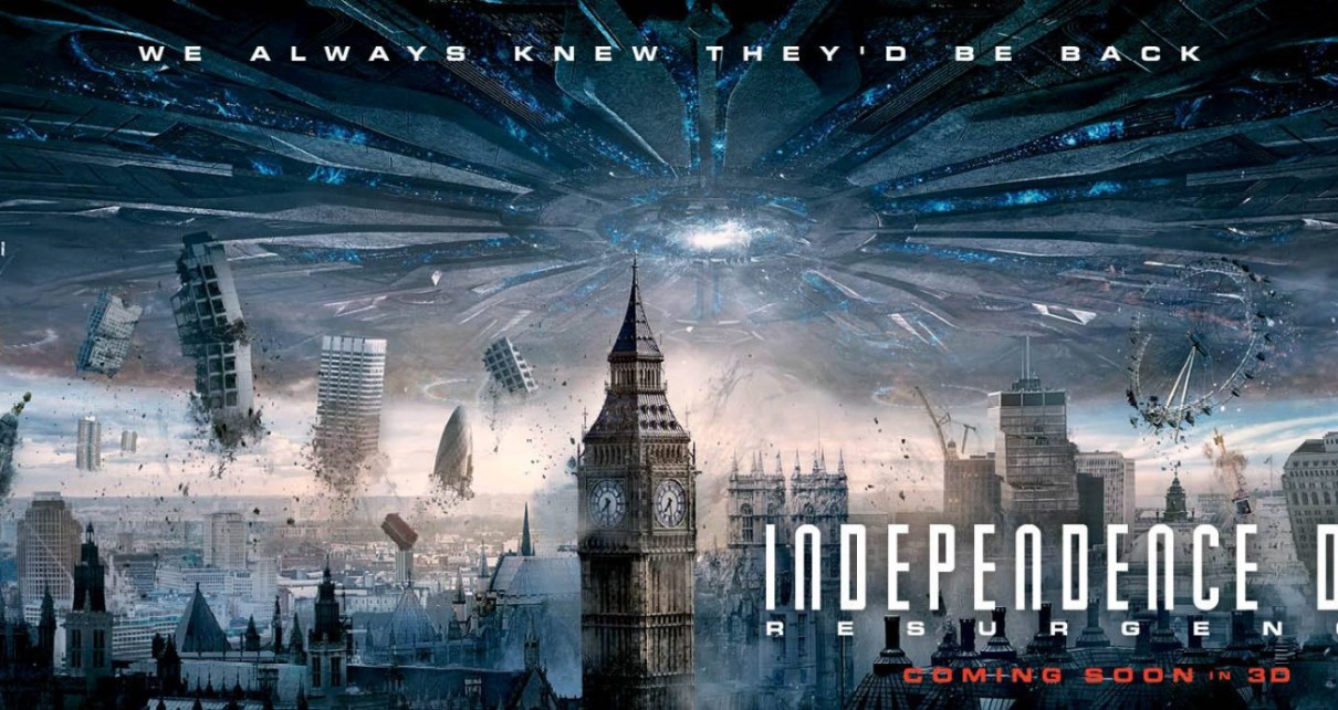 Critiques de suites - Independence Day Resurgence : un jour normal dans la vie d'un blockbuster (100% spoiler) independence day resurgence londres