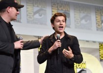 captain marvel - #SDCC - Marvel présente Spider-Man, Docteur Strange et Captain Marvel marvel comic con spider man homecoming tom holland