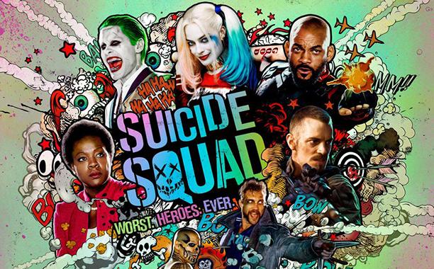 suicide squad - Suicide Squad : heure du DC (spoilers balisés, les caméos, la scène post-générique) suicide squad poster big