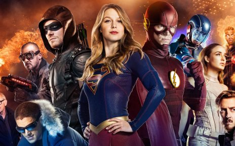 arrow - Bande Annonce du crossover Supergirl / Arrow / Flash / Legends of Tomorrow flash arrow supergirl