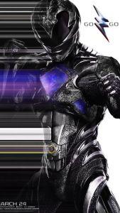 power rangers - Power Rangers : une nouvelle bande-annonce qui donne envie ! powerrangermovieposterblack 204101