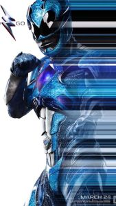 power rangers - Power Rangers : une nouvelle bande-annonce qui donne envie ! powerrangermovieposterblue 204103