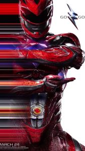 power rangers - Power Rangers : une nouvelle bande-annonce qui donne envie ! powerrangermovieposterred 204099
