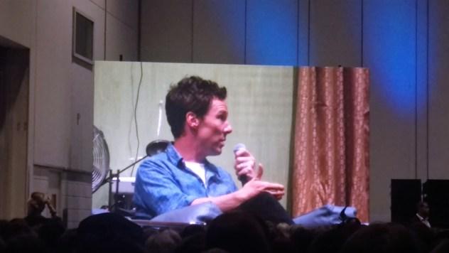 Benedict Cumberbatch Talk