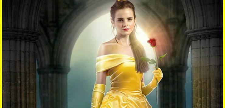 Premières images de la Bête avec sa Belle Emma Watson