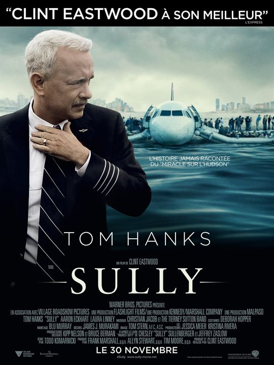 sully - Sully : Eastwood à l'Ouest affiche sully critique