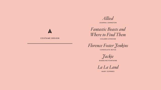 nominations - Oscars : 14 nominations pour La La Land NOMINATIONS oscars 1 14