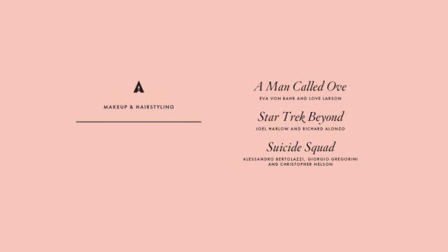 nominations - Oscars : 14 nominations pour La La Land NOMINATIONS oscars 1 16