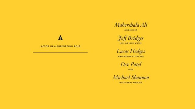 nominations - Oscars : 14 nominations pour La La Land NOMINATIONS oscars 1 5