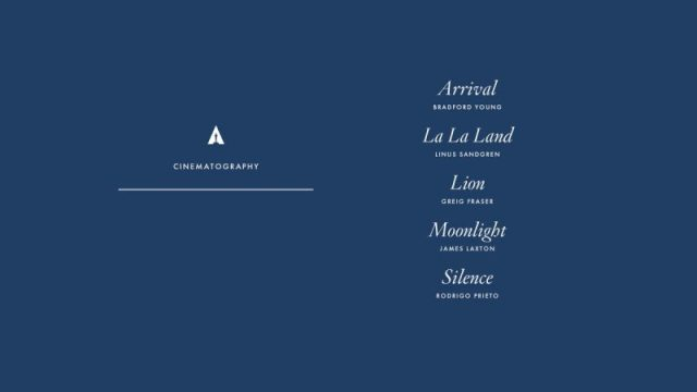 nominations - Oscars : 14 nominations pour La La Land NOMINATIONS oscars 1 8