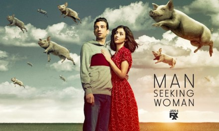 Man Seeking Woman, saison 3 épisode 1, moitié-moitié