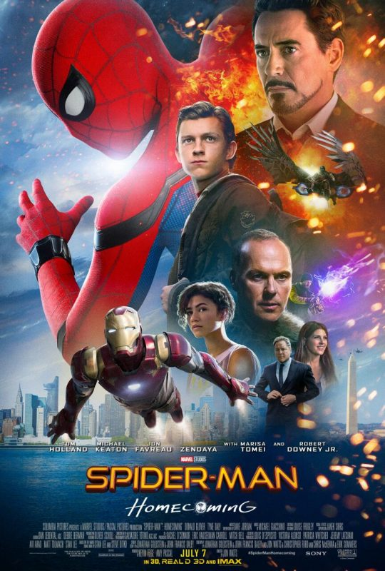 bande-annonce - Spider-Man Homecoming : nouveau trailer er deux posters ! homecoming poster 2
