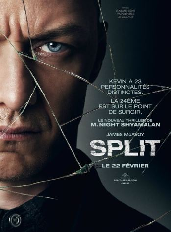 incassable - Glass : suite d'Incassable prévue en 2019 affiche split
