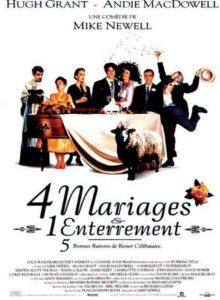 liste - Nos ROMCOM préférées 4 mariages et 1 enterrement