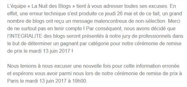 blogosphère - La Nuit Des Blogs : un fiasco de plus pour l'aura des blogs nuit des blogs