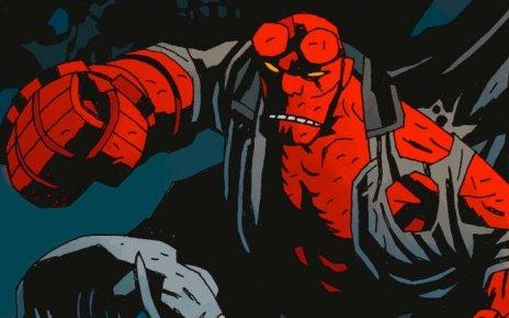 hellboy - Premières photos du nouveau Hellboy hellboy comics punching