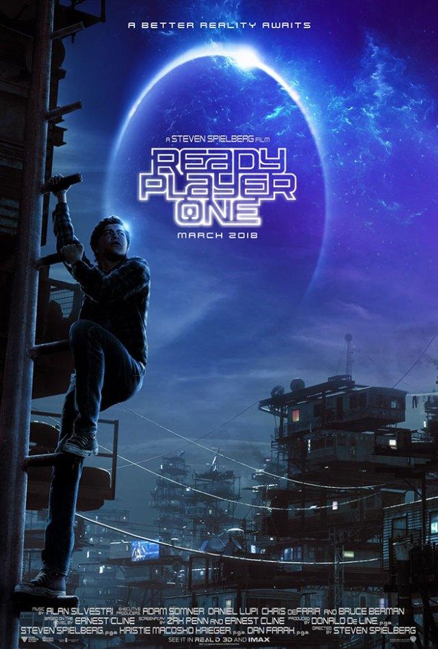 ready player one - Ready Player One : le retour de papy Spielberg aux commandes du ciné de divertissement? ready player one poster small
