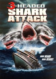the asylum - Du côté de The Asylum (Tomb Invader, Atlantic Rim 2...) 3 Headed Shark Poster