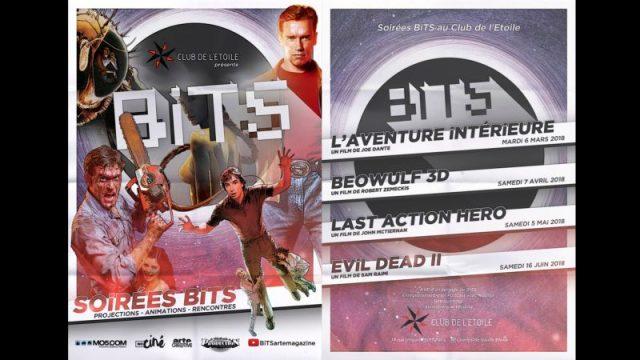 bits - Dark Crystal et Last Action Hero au Club de l'Etoile BiTS Flyer