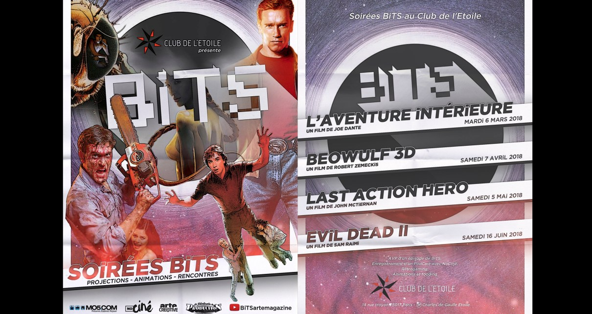 bits - Dark Crystal et Last Action Hero au Club de l'Etoile BiTS Flyer