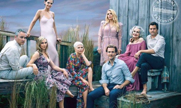 Entertainment Weekly réunit le cast de Dawson pour les 20 ans de la série