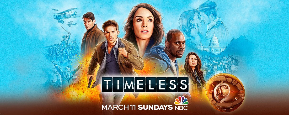 timeless - Timeless : un épisode de conclusion ! Timeless Season Two Banner Poster