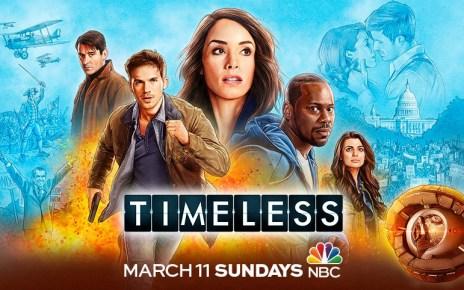 timeless - Timeless : un épisode de conclusion ! Timeless Season Two Banner Poster