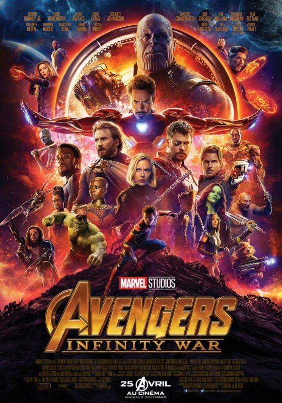 avengers - Avengers Infinity War : le trailer avengers affiche