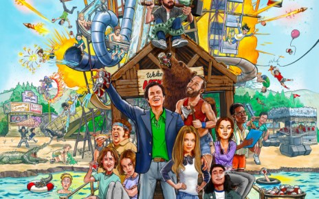 action park - Action Point : le film sur le parc le plus dangereux du monde action point affiche