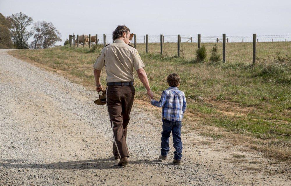 Andrew Lincoln s'en va de THE WALKING DEAD
