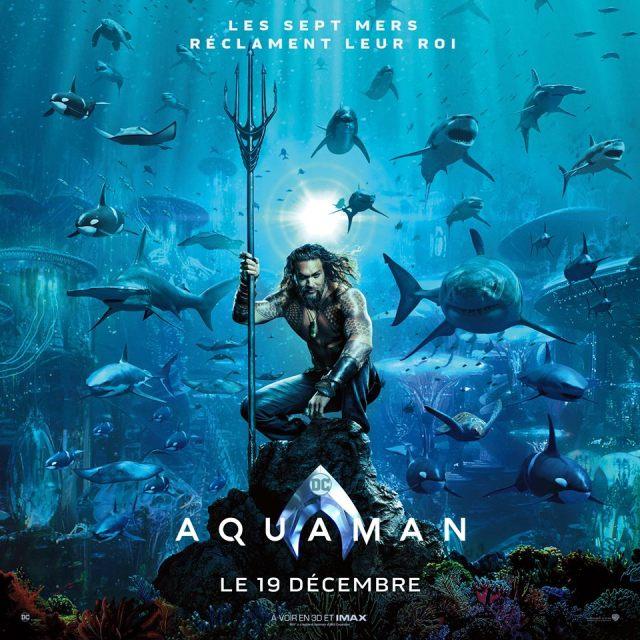 aquaman - Doctor Who tease, Les Razmokets reviennent et Aquaman s 'affiche aquaman poster vf