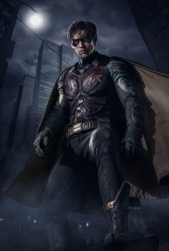 dc - Robin et sa bande dans le premier teaser de la série DC, Titans titans robin