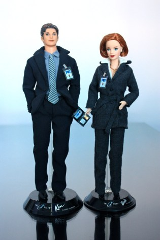barbie - Des nouvelles Barbie pour les 25 ans de The X-Files