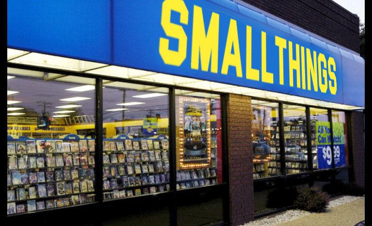 Le vidéoclub de Smallthings : on rembobine vers les années 90