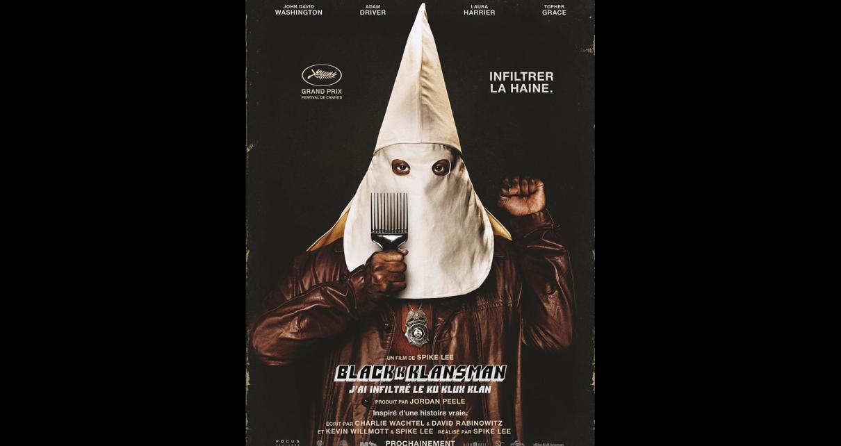 blackkklansman - BlacKkKlansMan: Noire révolte affiche blackkklansman