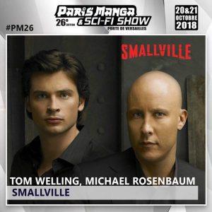 ++ - PARIS MANGA & SCI-FI SHOW : une édition rétro à ne pas rater (Smallville, Charmed, Parker Lewis) smallville paris manga