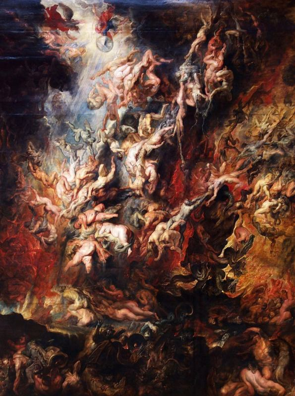 - Les oeuvres d'art dans les films et séries The Fall of the Damned by Peter Paul Rubens1620