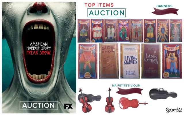 american horror story - American Horror Story: grande vente aux enchères ahs freak show