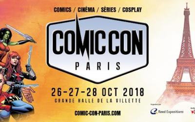 COMIC CON PARIS : le programme détaillé