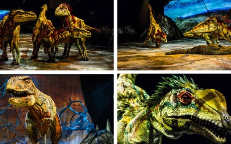 la marche des dinosaures - La Marche des Dinosaures de retour à l'AccorHotels Arena unnamed 2