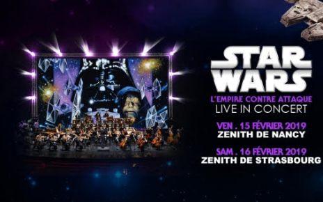 ciné-concert - Star Wars 5 et 6 en ciné-concert en 2019 star wars cine concert