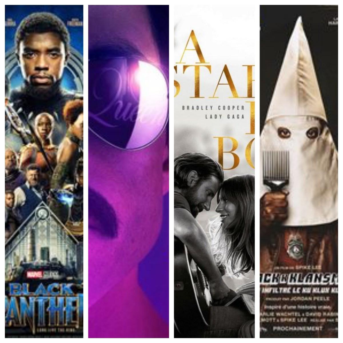 Black Panther, Bohemian Rhapsody, A Star Is Born, BlacKkKlansman , retour sur les nommés aux Oscars du meilleur film #1