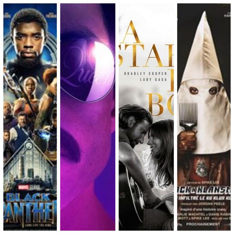 Black Panther, Bohemian Rhapsody, A Star Is Born, BlacKkKlansman : retour sur les nommés aux Oscars du meilleur film #1