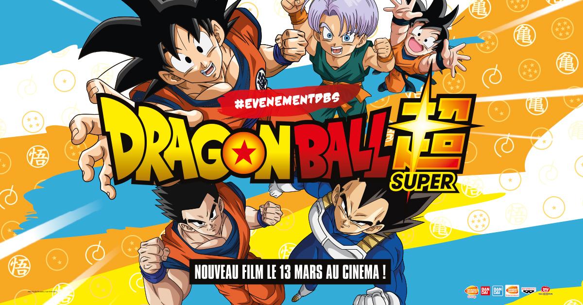 Un train aux couleurs de DRAGON BALL SUPER