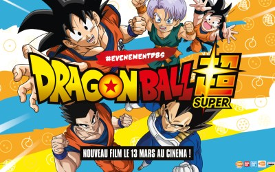 Un train aux couleurs de DRAGON BALL SUPER