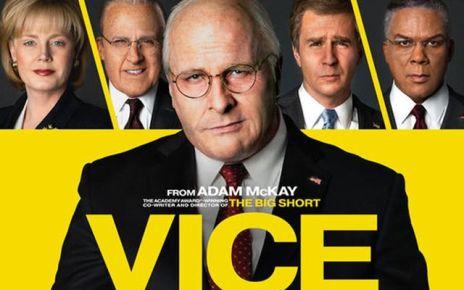 Christian Bale - Vice : L'enquête d'une Amérique pourrie vice critique poster