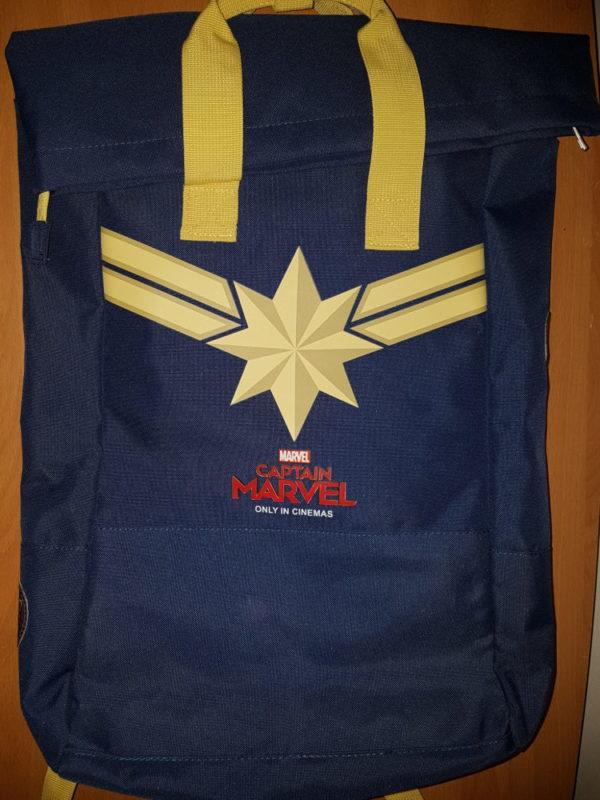 captain marvel - CONCOURS CAPTAIN MARVEL : gagnez un sac à dos et un tote bag concours captain marvel sac 1 e1551952654306