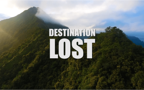 charlie hunnam - WE HAVE TO GO BACK - DESTINATION LOST teaser du documentaire
